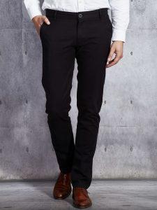 Czarne jeansy męskie
