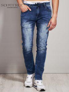 Spodnie jeansowe slim fit