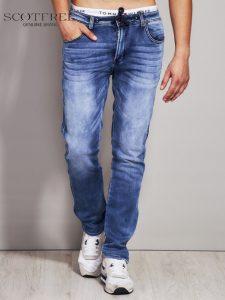 Męskie spodnie jeansowe