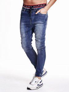 Modne spodnie jeansowe