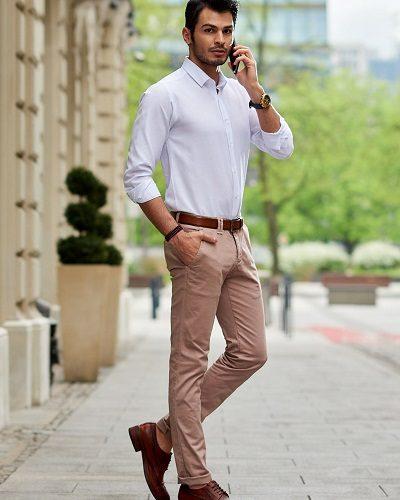 męskie spodnie do pracy